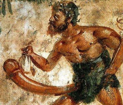 Priapo Dios de Romano y Griego de la fertilidad