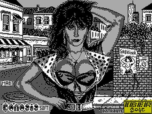 Sabrina Salerno videogame videojuego